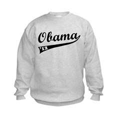 Obama 2012 Swish Kids Sweatshirt