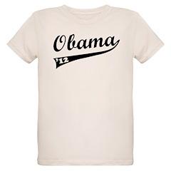 Obama 2012 Swish Organic Kids T-Shirt