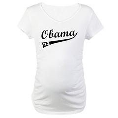 Obama 2012 Swish Maternity T-Shirt