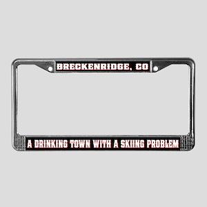Breckenridge Colorado License Plate Frame