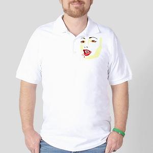 Sexy Vampire Golf Shirt