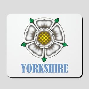 White Rose of York Mousepad