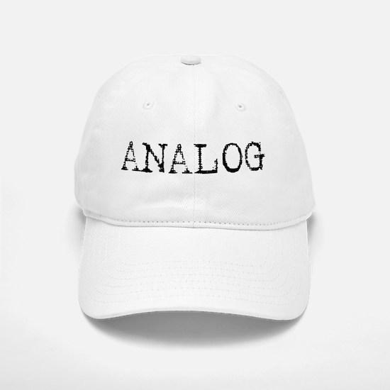 ANALOG Baseball Baseball Cap
