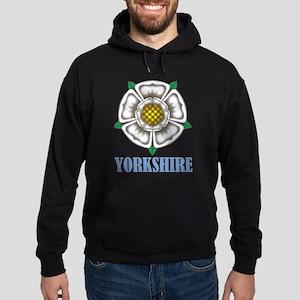 White Rose of York Hoodie (dark)