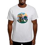 St Francis #2/ Sealyham T Light T-Shirt