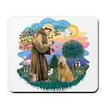 St Francis #2/ Wheaten #2 Mousepad