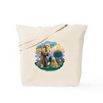 St Francis #2/ Wheaten #2 Tote Bag