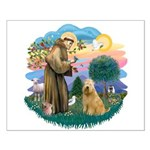 St Francis #2/ Wheaten #2 Small Poster