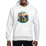 St Francis #2/ Wheaten #2 Hooded Sweatshirt