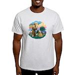 St Francis #2/ Wheaten #2 Light T-Shirt