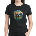 St Francis #2/ Wheaten #2 Women's Dark T-Shirt