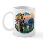 St Francis #2/ Whippet #7 Mug