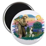 St Francis #2/ Siberian #3 Magnet