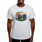 St Francis #2/ Briard (f) Light T-Shirt