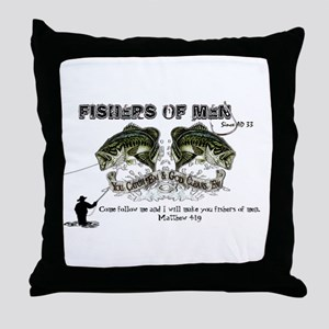 Jesus Fishers of Men Throw Pillow