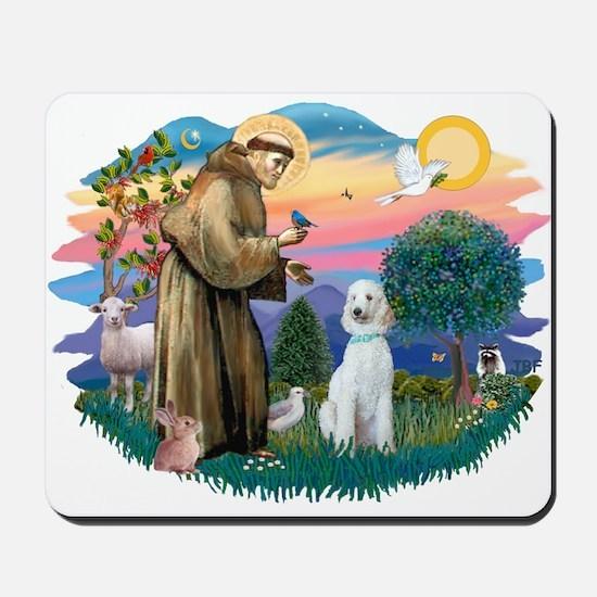 St Francis #2/ Poodle (Std C) Mousepad