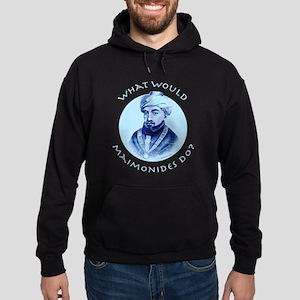 What Would Maimonides Do? Hoodie (dark)