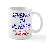 Remember November Mug