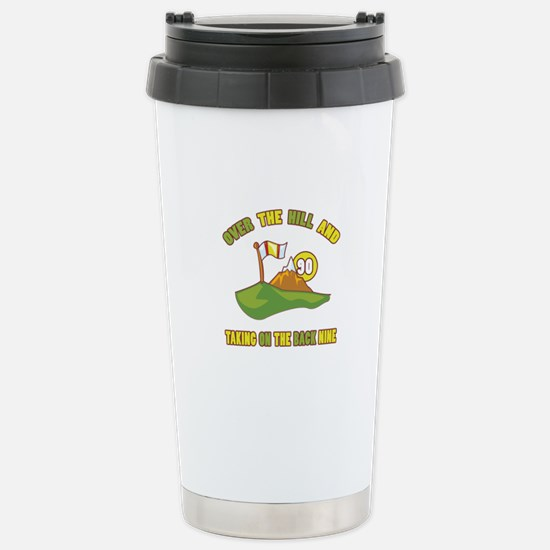 Golfing Humor For 90th Birthday Stainless Steel Tr