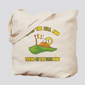 Golfing Humor For 60th Birthday Tote Bag