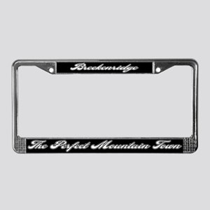 Breckenridge Colorado License Plate Frame