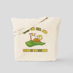 Golfing Humor For 40th Birthday Tote Bag