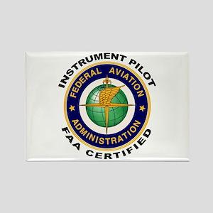 FAA Certified Instrument Pilot Rectangle Magnet