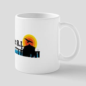 Narragansett RI - Pier Design Mug