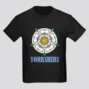 White Rose of York Kids Dark T-Shirt