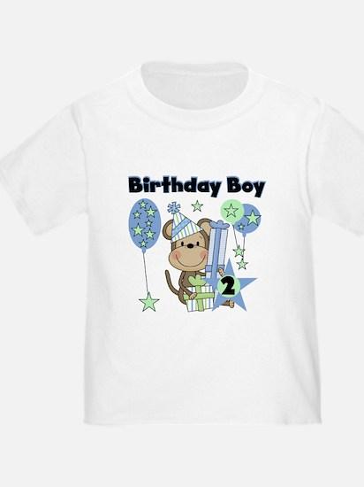 Monkey 2nd Birthday T
