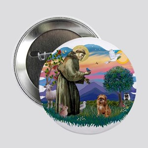 """St Francis #2/ Brussels G 2.25"""" Button"""