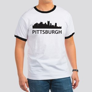 Pittsburgh Skyline Ringer T