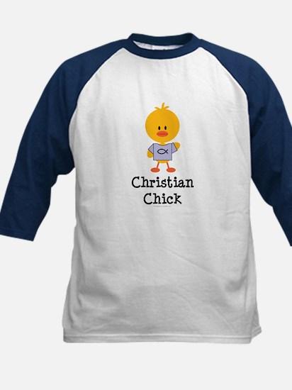Christian Chick Kids Baseball Jersey
