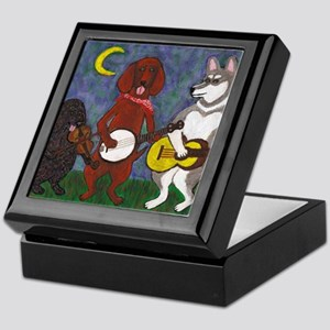 Country Dogs Keepsake Box