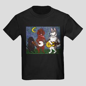 Country Dogs Kids Dark T-Shirt