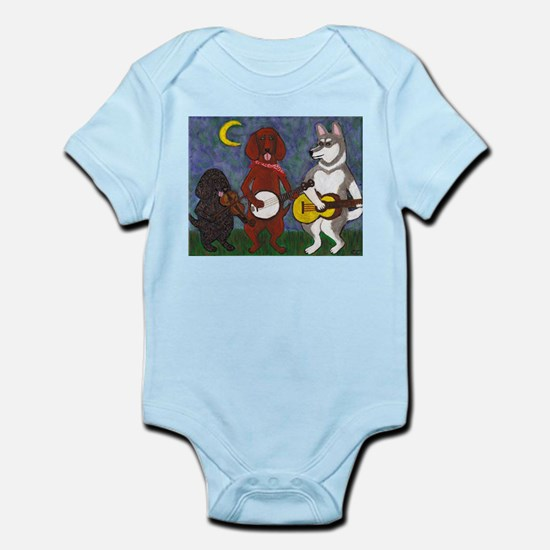 Country Dogs Infant Bodysuit