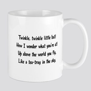 twinkle, twinkle little bat Mug