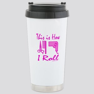 BEAUTICIAN/HAIRSTYLIST Stainless Steel Travel Mug