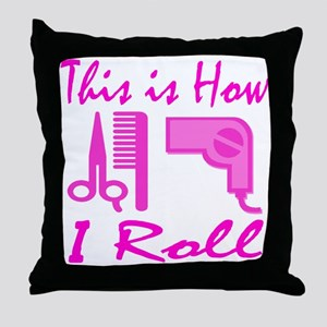 BEAUTICIAN/HAIRSTYLIST Throw Pillow