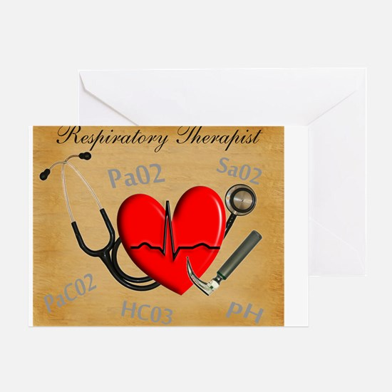 Respiratory Therapist XX Greeting Card