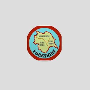 Yorkshire Mini Button