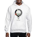 Hunter Clan Crest Badge Hooded Sweatshirt