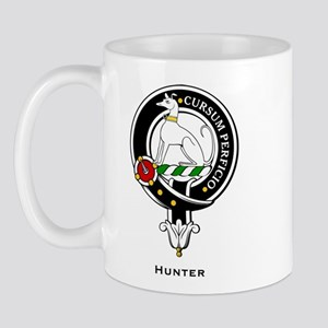 Hunter Clan Crest Badge Mug