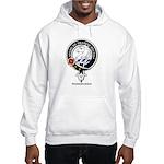 Horsburgh Clan Crest Badge Hooded Sweatshirt