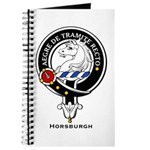 Horsburgh Clan Crest Badge Journal