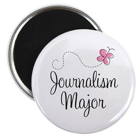 Cute Journalism Major Magnet