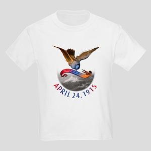 Armenian Genocide Kids Light T-Shirt