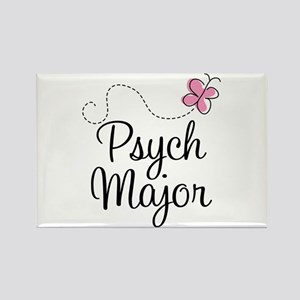 Cute Psych Major Rectangle Magnet