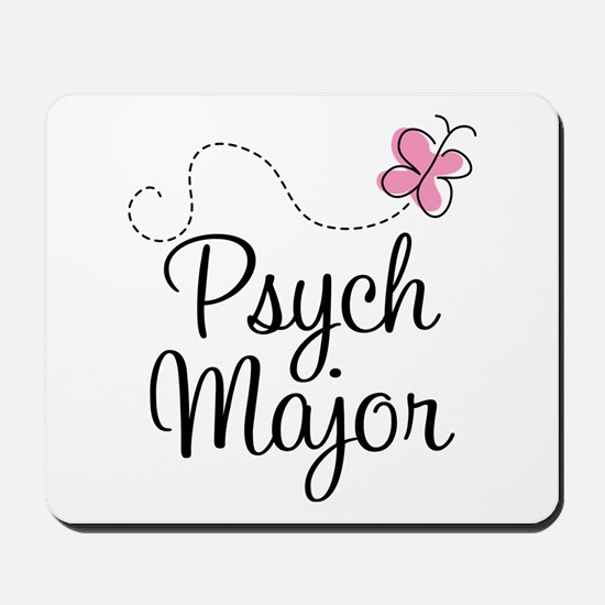 Cute Psych Major Mousepad