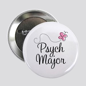 "Cute Psych Major 2.25"" Button"